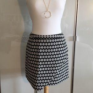 NWT H&M black and white skirt